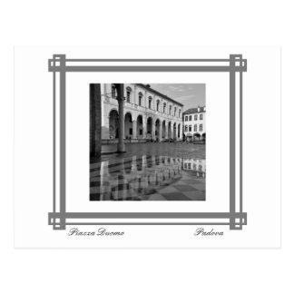 Piazza Duomo Reflections Postcard