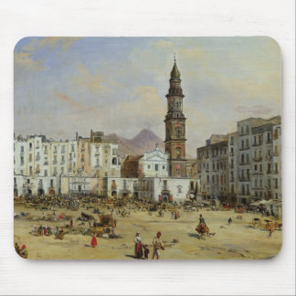 Piazza Mazaniello, Naples Mouse Pad