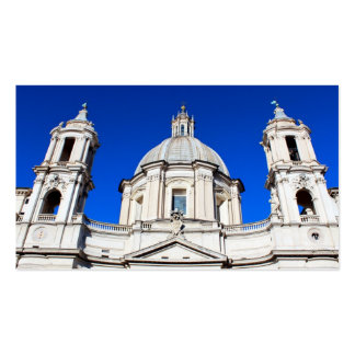Piazza Navona Double-Sided Standard Business Cards (Pack Of 100)
