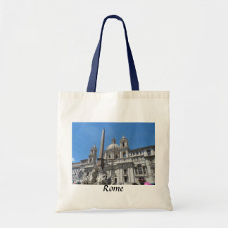 Piazza Navona- Rome Italy Tote Bags