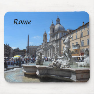 Piazza Navona- Rome, Italy Mouse Pad