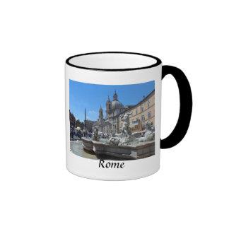 Piazza Navona- Rome, Italy Ringer Coffee Mug