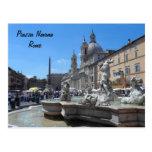 Piazza Navona- Rome, Italy Postcard