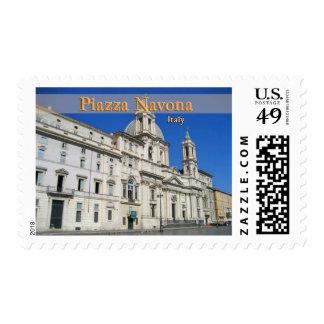 Piazza Novona Stamp