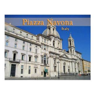 Piazza Novona Postcard