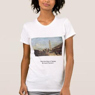 Piazza San Marco A Venezia. By Guardi Francesco T-shirt