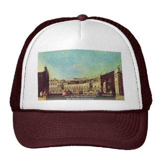 Piazza San Marco, By Guardi Francesco Trucker Hat