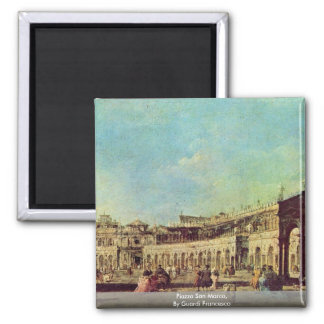Piazza San Marco, By Guardi Francesco Magnets
