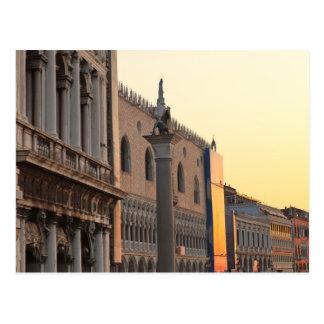 Piazza San Marco (St. Mark's Square, Venice Postcard