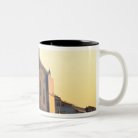 Piazza San Marco (St. Mark's Square, Venice Two-Tone Coffee Mug