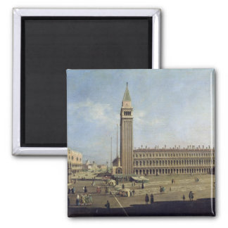 Piazza San Marco, Venice 2 Inch Square Magnet
