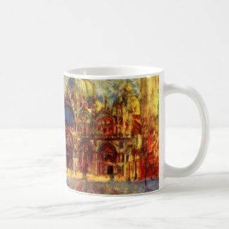 Piazza San Marco, Venice by Pierre Renoir Coffee Mug