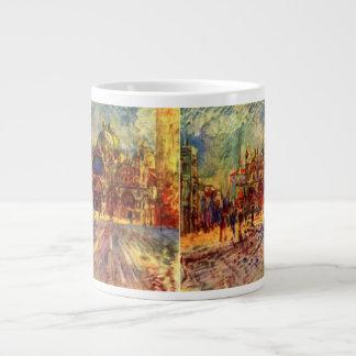 Piazza San Marco, Venice by Pierre Renoir Giant Coffee Mug