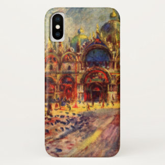 Piazza San Marco, Venice by Pierre Renoir iPhone X Case