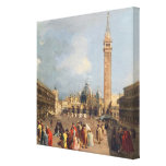 Piazza San Marco, Venice, c.1760 Stretched Canvas Prints