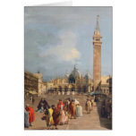 Piazza San Marco, Venice, c.1760 Greeting Card