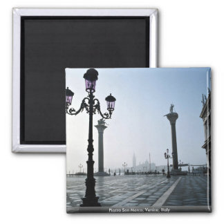 Piazza San Marco, Venice, Italy 2 Inch Square Magnet