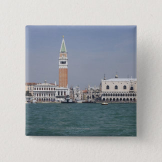 Piazza San Marco Venice Italy Button