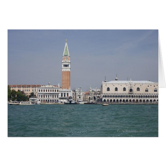 Piazza San Marco Venice Italy Card