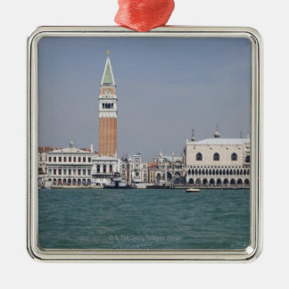 Piazza San Marco Venice Italy Square Metal Christmas Ornament