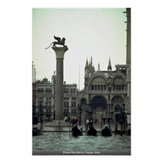 Piazza San Marco, Venice, Italy Poster