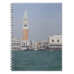 Piazza San Marco Venice Italy Spiral Notebooks