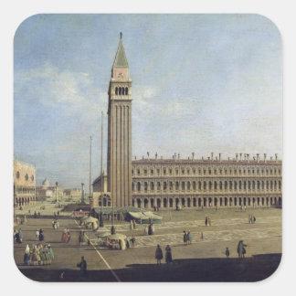 Piazza San Marco, Venice Square Sticker