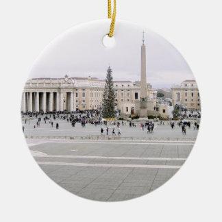 Piazza San Pietro Christmas Tree Ornaments