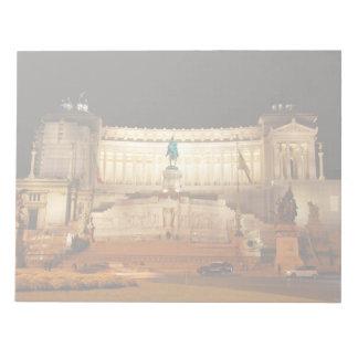 Piazza Venezia, Rome Memo Note Pads