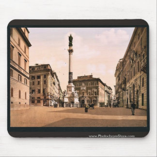Piazzi di Spagna, Rome, Italy classic Photochrom Mouse Pad