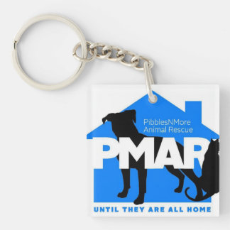 Pibbles More Animal Rescue KeyChain