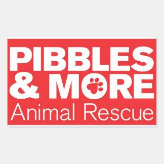 Pibbles ^ More Animal Rescue Sticker
