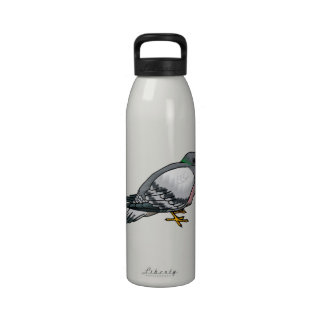 Pibbles Pigeon.png Drinking Bottle