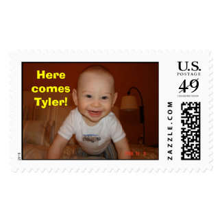 pic008, Here comes Tyler! Postage