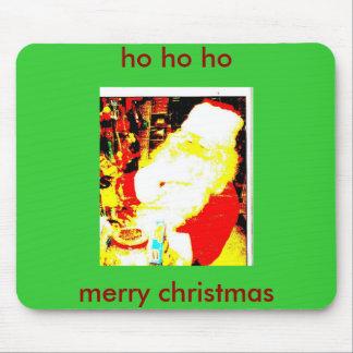 pic015, ho ho ho, merry christmas mouse pad