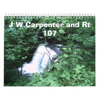 pic061107_16[1], J W Carpenter and Rt 107 Wall Calendar