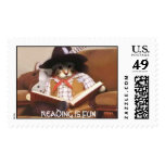 pic31101, READING IS FUN Stamp