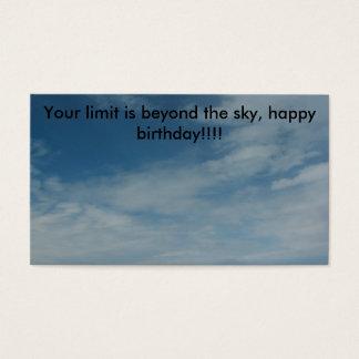 PIC_0336, su límite está más allá del cielo, b Tarjetas De Visita
