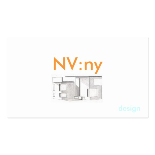 Pic, NV:ny, design - Customized Business Card Template
