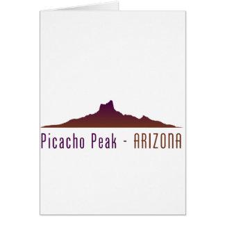Picacho Peak - Arizona Card