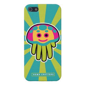 Picaduras de las medusas iPhone 5 carcasas