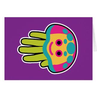 Picaduras de las medusas tarjeta de felicitación