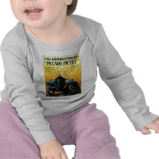 Picard Pictet Vintage Car Advertisement T-shirt