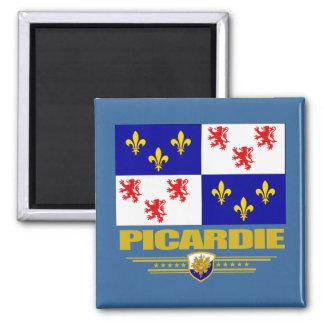 Picardie 2 Inch Square Magnet