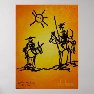 Picaso's Don Quixote Poster