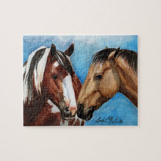 Picasso and Monet Wild Horses Puzzle  llmartin
