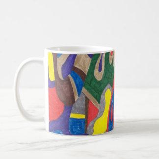 """Picasso Cat"" Abstract Art  Mug"
