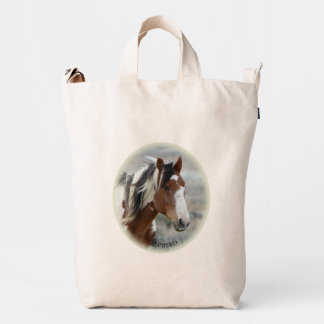 Picasso Icon of Sand Wash Basin,  Colorado Duck Bag