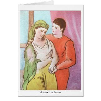 Picasso-The Lovers  note card