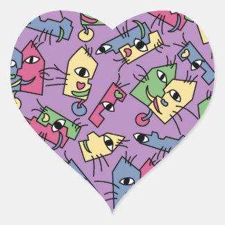PiCATso! Heart Sticker